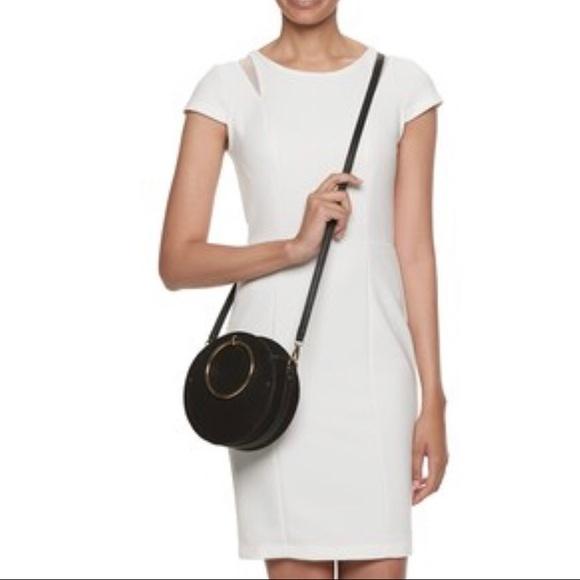 632a8b1c05c6 LC Lauren Conrad Aster O-Ring Circle Crossbody Bag